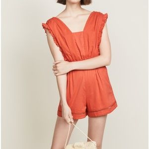 NWT ✨ Kos Resort Sleeveless Coral Romper